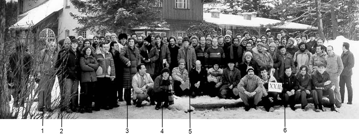 XX-th Karpacz Winter School of Theoretical Physics 1986